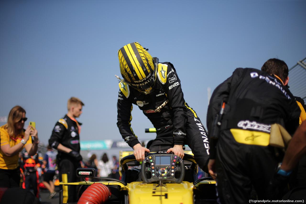 GP AUSTRALIA, 17.03.2019- grid  Nico Hulkenberg (GER) Renault Sport F1 Team RS19