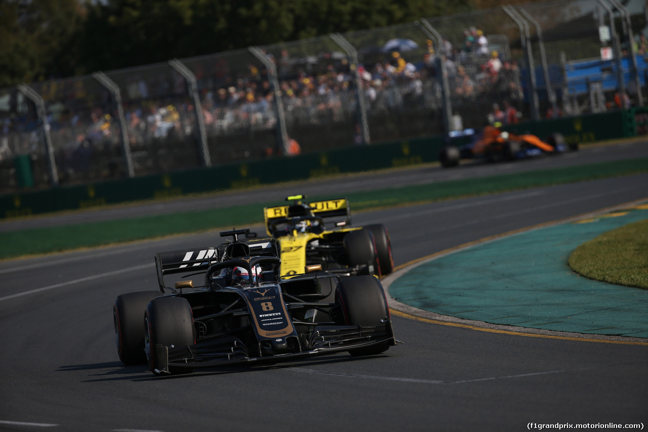 GP AUSTRALIA, 17.03.2019- race, Romain Grosjean (FRA) Haas F1 Team VF-19