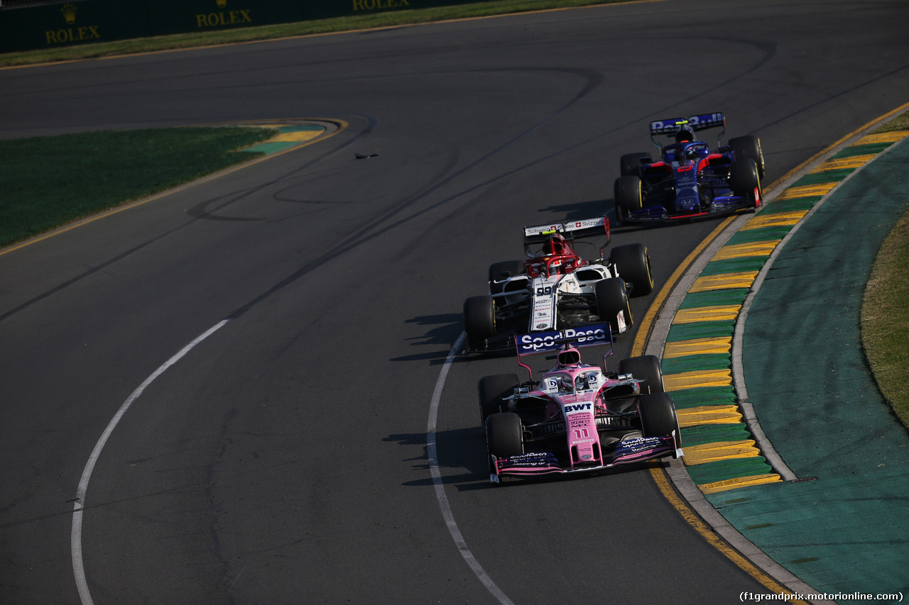 GP AUSTRALIA, 17.03.2019- race, Sergio Perez (MEX) Racing Point F1 RP19
