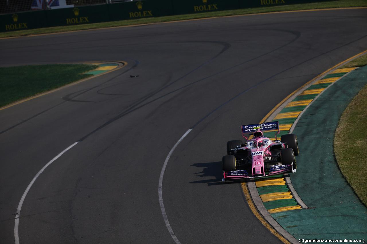 GP AUSTRALIA, 17.03.2019- race, Lance Stroll (CDN) Racing Point F1 RP19