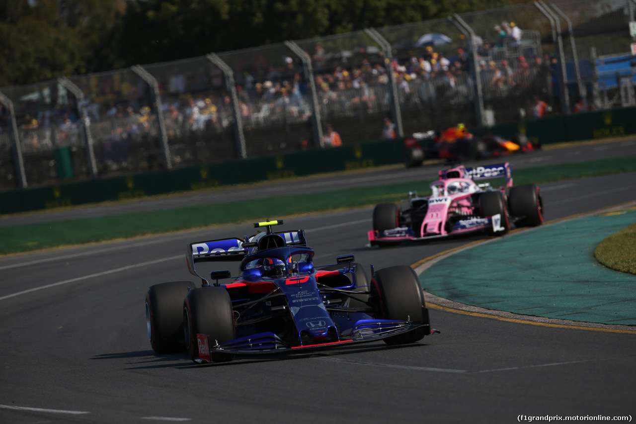 GP AUSTRALIA, 17.03.2019- race, Alexader Albon (THA) Scuderia Toro Rosso STR14