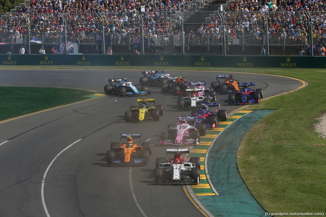 GP AUSTRALIA, 17.03.2019- partenza of the race