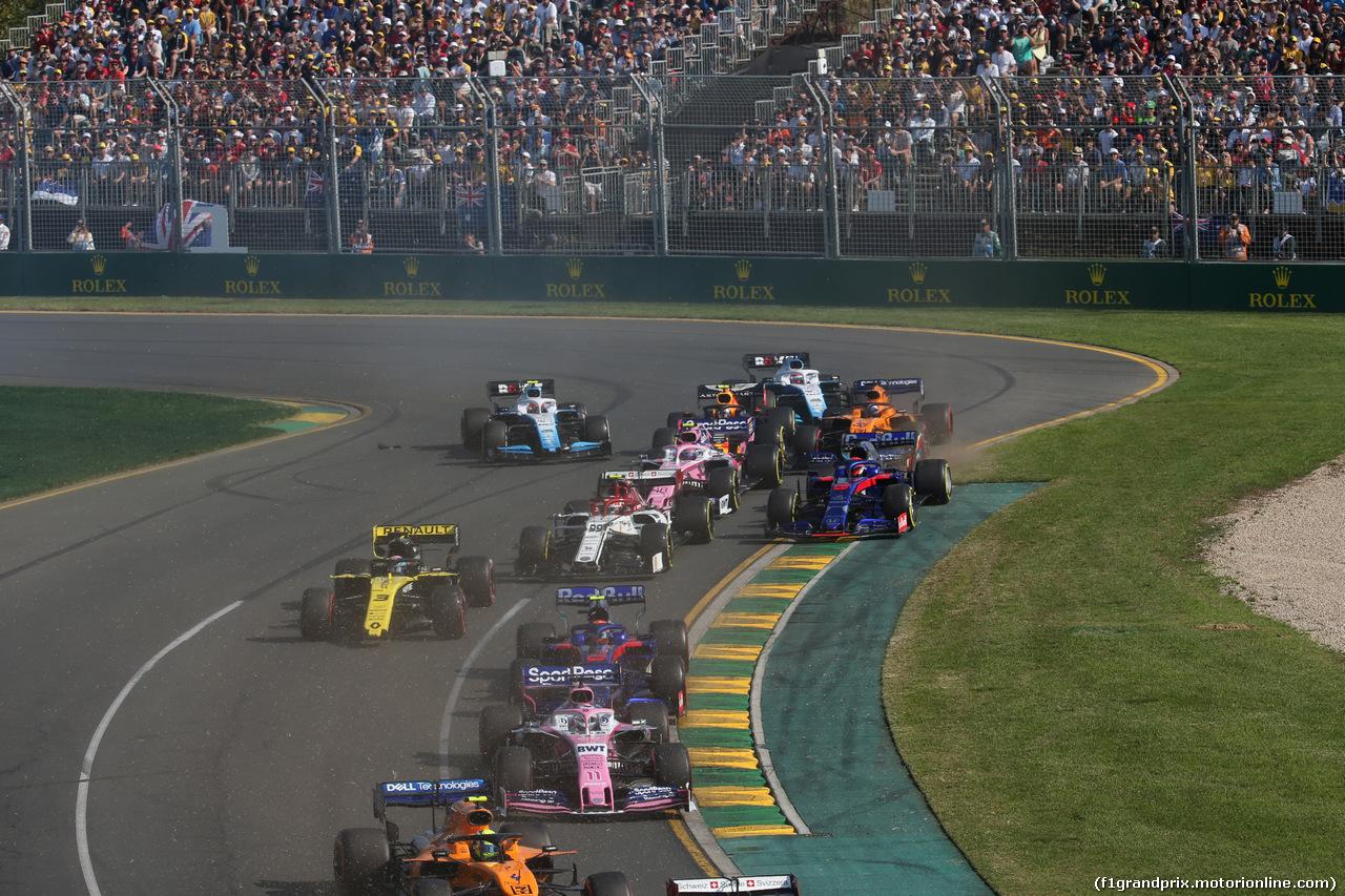GP AUSTRALIA, 17.03.2019- partenza of the race