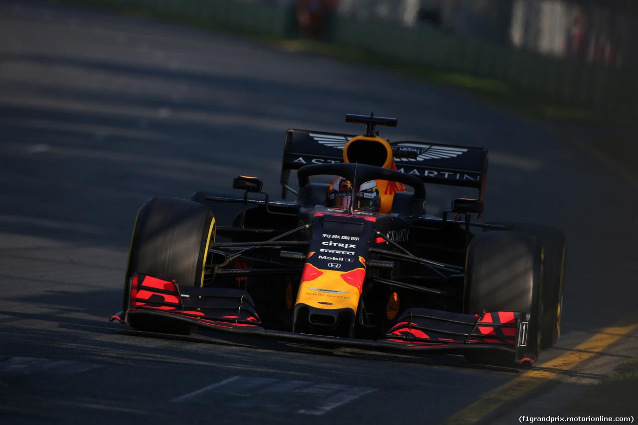 GP AUSTRALIA, 17.03.2019- race, Max Verstappen (NED) Red Bull Racing RB15