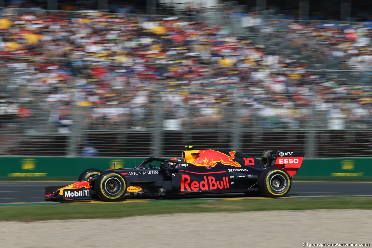 GP AUSTRALIA, 17.03.2019- race, Pierre Gasly (FRA) Redbull Racing RB15