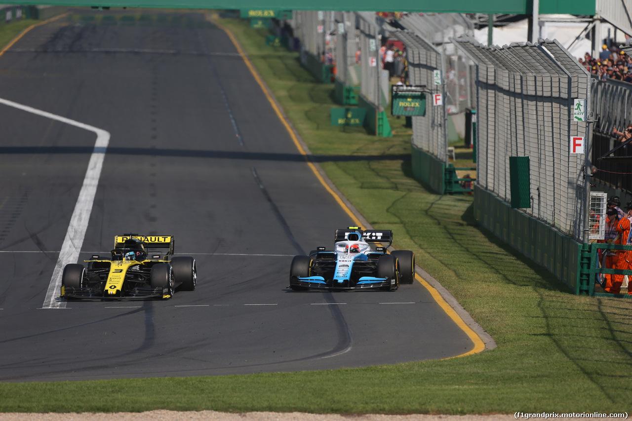 GP AUSTRALIA, 17.03.2019- race, Daniel Ricciardo (AUS) Renault Sport F1 Team RS19