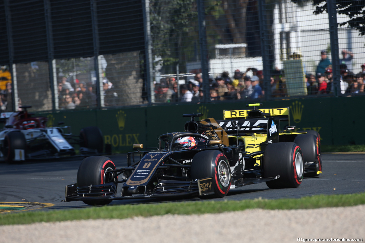 GP AUSTRALIA, 17.03.2019- race, Romain Grosjean (FRA) Haas F1 Team VF-19
