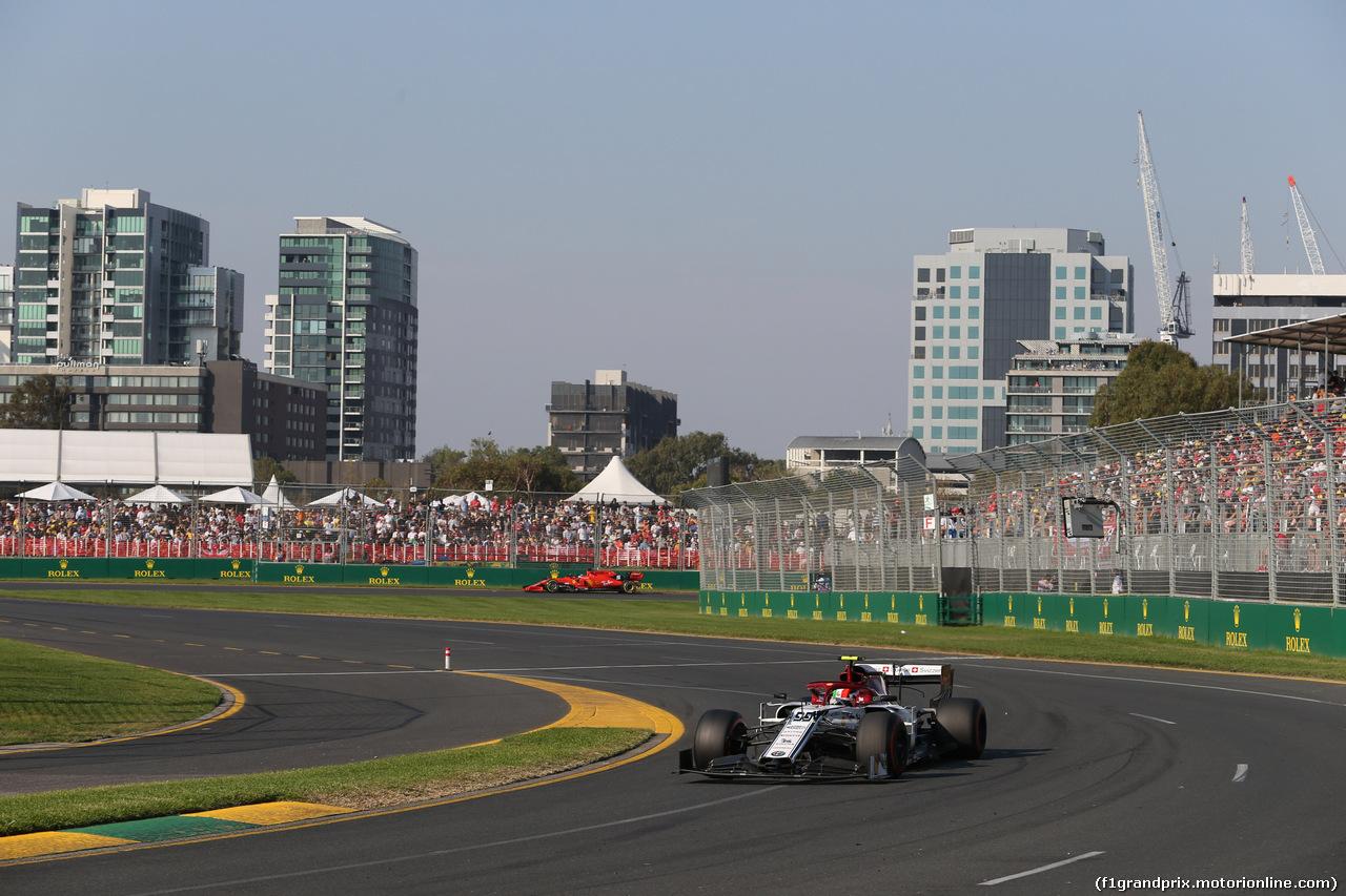GP AUSTRALIA, 17.03.2019- race, Antonio Giovinazzi (ITA) Alfa Romeo Racing C38