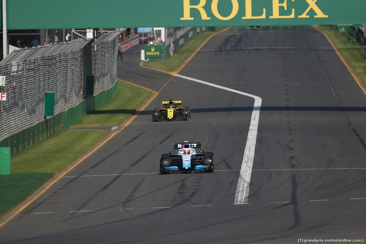 GP AUSTRALIA, 17.03.2019- race, Robert Kubica (POL) Williams F1 FW42