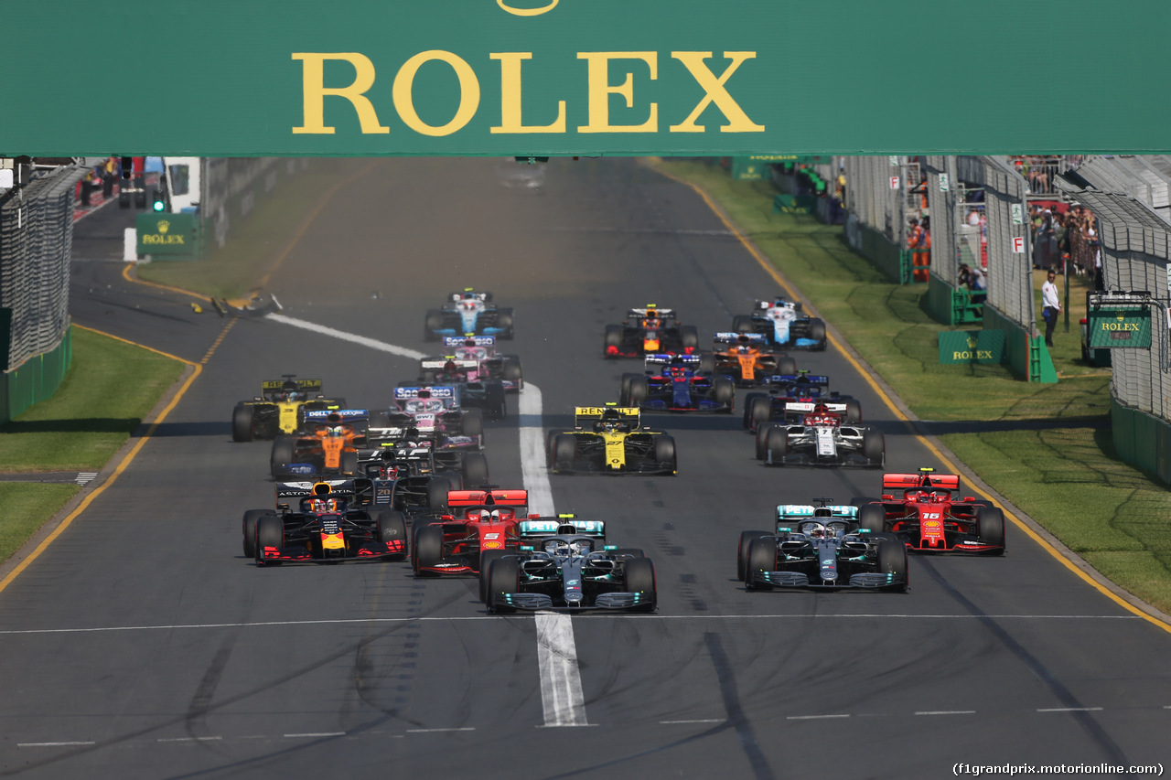 GP AUSTRALIA, 17.03.2019- Start of the race