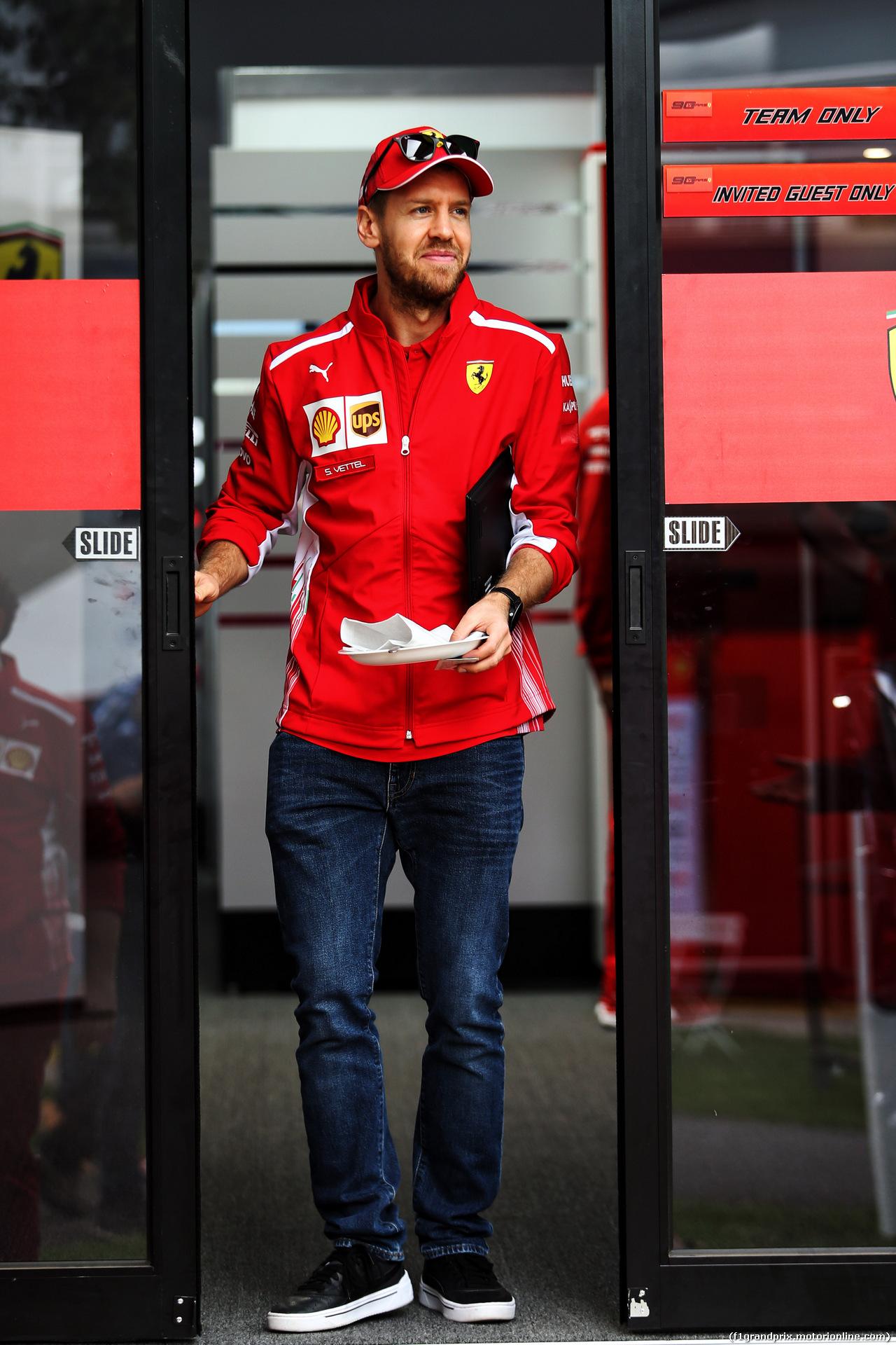GP AUSTRALIA, Sebastian Vettel (GER) Ferrari. 13.03.2019.