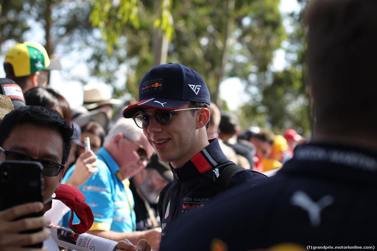 GP AUSTRALIA, 14.03.2019- Pierre Gasly (FRA) Redbull Racing RB15