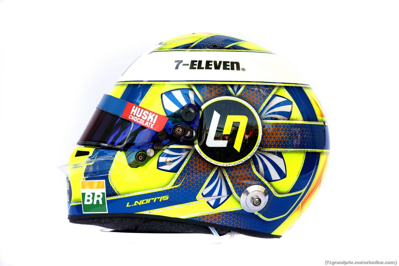 GP AUSTRALIA, The helmet of Lando Norris (GBR) McLaren. 14.03.2019.