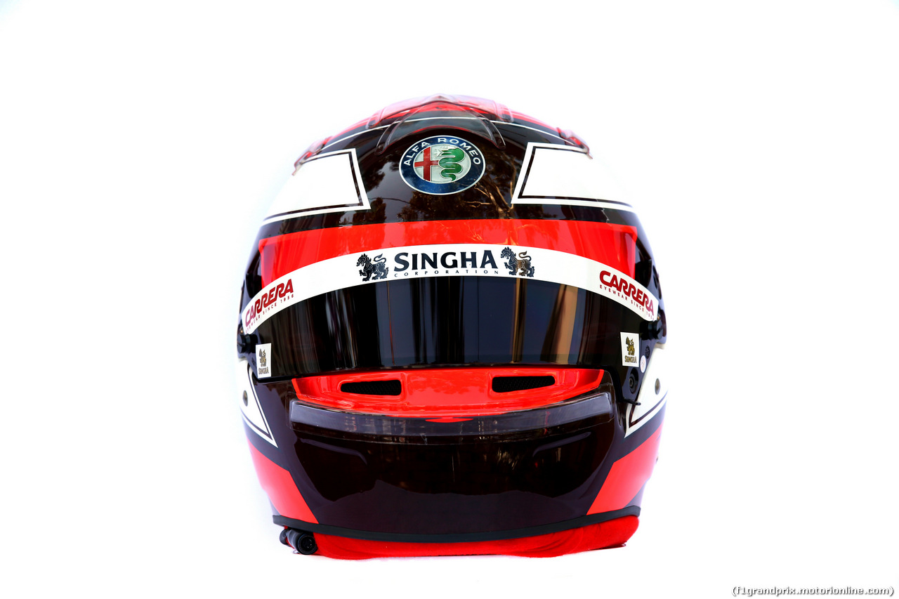 GP AUSTRALIA, The helmet of Kimi Raikkonen (FIN) Alfa Romeo Racing. 14.03.2019.