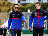 GP AUSTRALIA, Alexander Albon (THA) Scuderia Toro Rosso walks the circuit with the team. 13.03.2019.