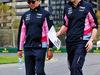 GP AUSTRALIA, Sergio Perez (MEX) Racing Point F1 Team walks the circuit with the team. 13.03.2019.
