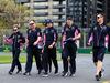 GP AUSTRALIA, Lance Stroll (CDN) Racing Point F1 Team walks the circuit with the team. 13.03.2019.