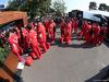 GP AUSTRALIA, 16.03.2019- Ferrari meccanici wait the end of curfew for enter in the paddock