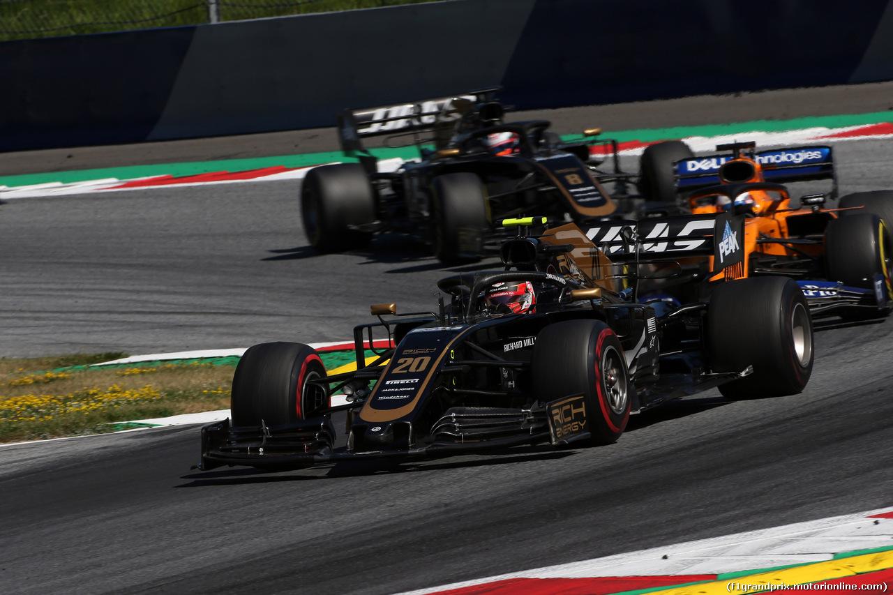 GP AUSTRIA, 30.06.2019 - Gara, Kevin Magnussen (DEN) Haas F1 Team VF-19