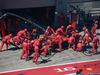 GP AUSTRIA, 30.06.2019 - Gara, Pit stop, Charles Leclerc (MON) Ferrari SF90