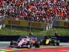 GP AUSTRIA, 30.06.2019 - Gara, Lance Stroll (CDN) Racing Point F1 Team RP19 e Daniel Ricciardo (AUS) Renault Sport F1 Team RS19