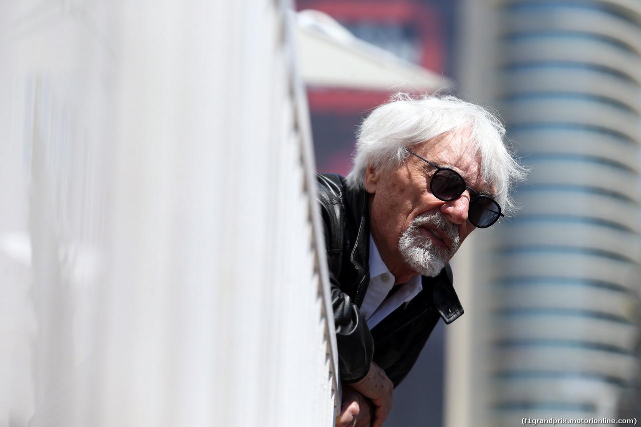 GP AZERBAIJAN, 28.04.2019 - Bernie Ecclestone (GBR)