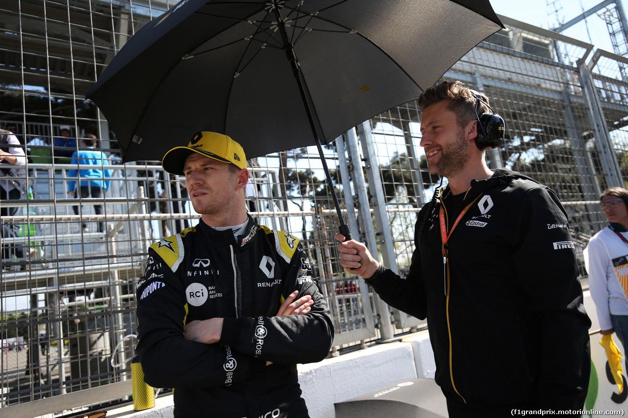 GP AZERBAIJAN, 28.04.2019 - Gara, Nico Hulkenberg (GER) Renault Sport F1 Team RS19