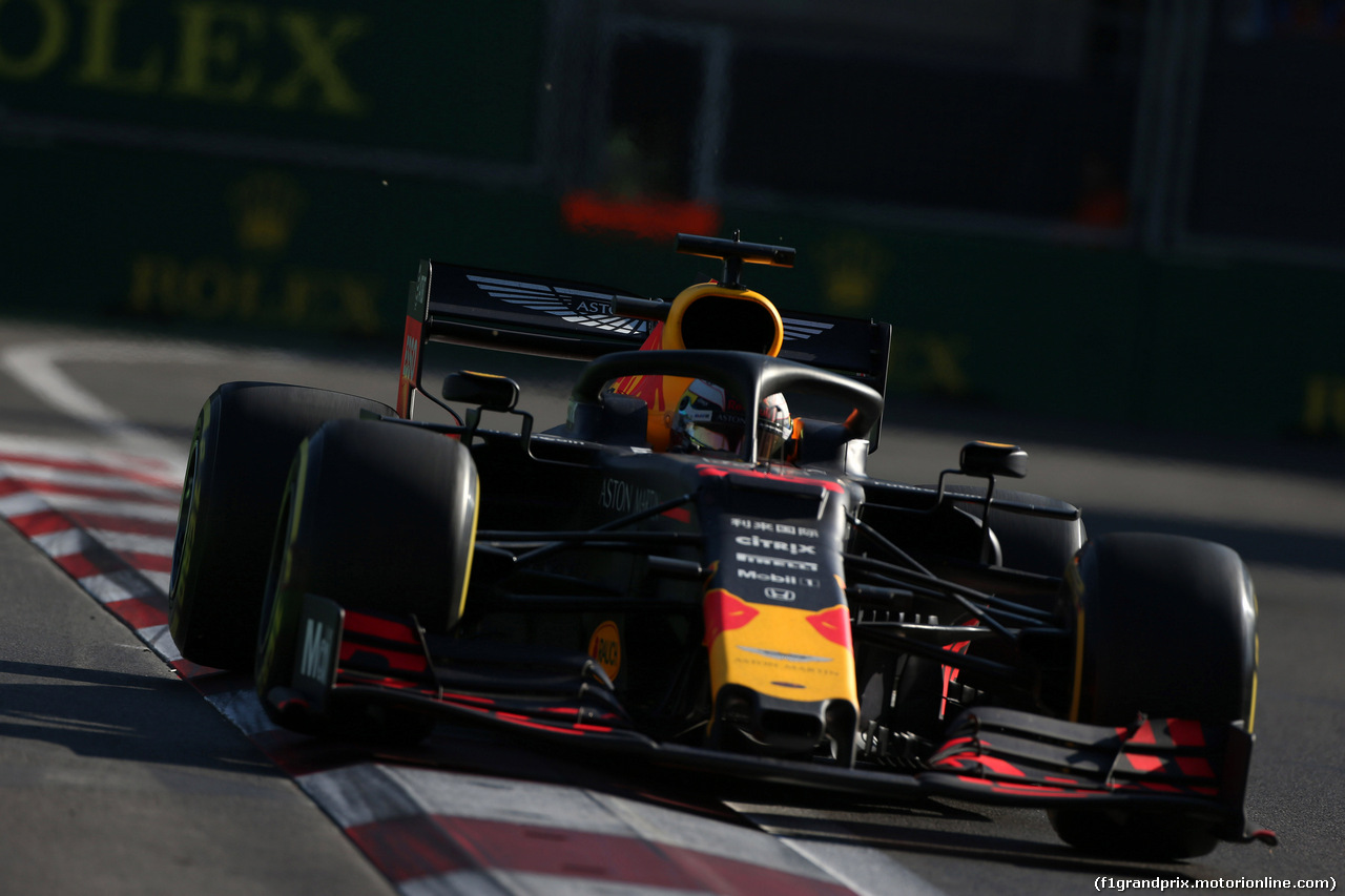 GP AZERBAIJAN, 28.04.2019 - Gara, Max Verstappen (NED) Red Bull Racing RB15