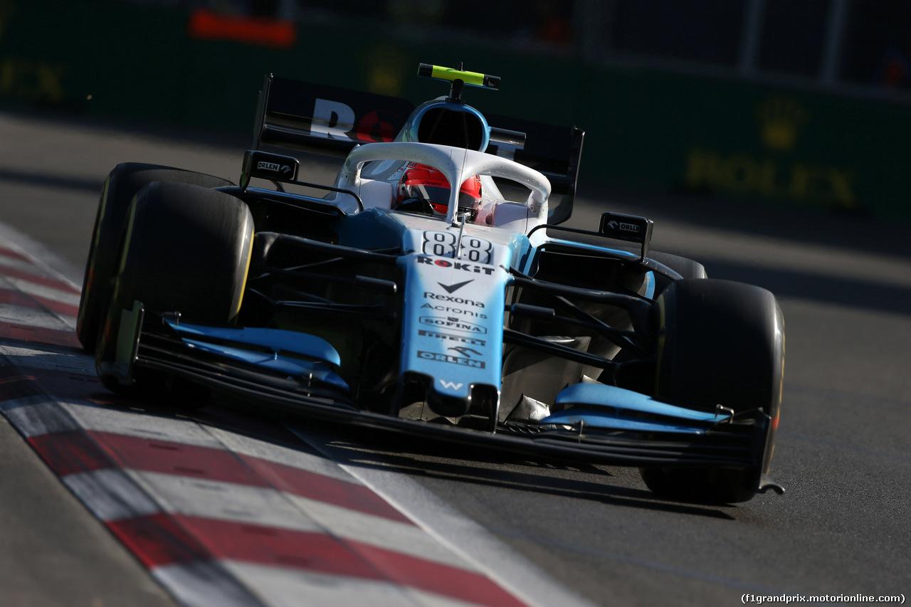 GP AZERBAIJAN, 28.04.2019 - Gara, Robert Kubica (POL) Williams Racing FW42