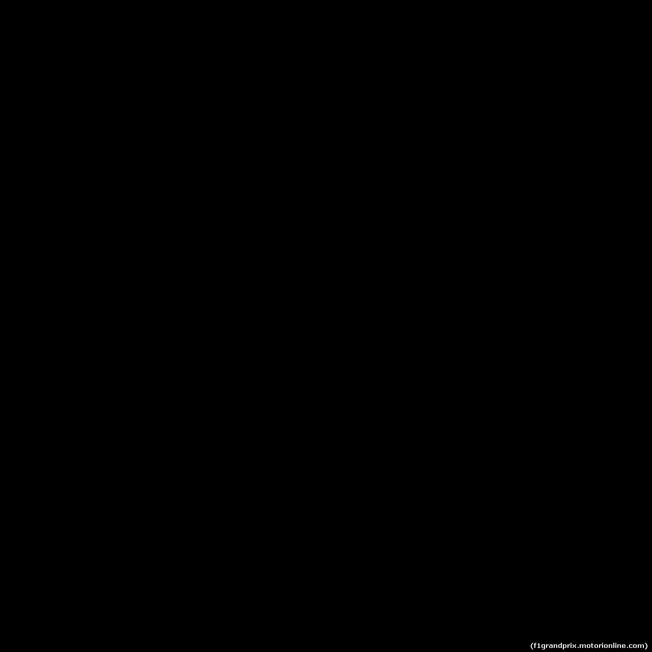 GP AZERBAIJAN, 28.04.2019 - Gara, Masashi Yamamoto (JPN) Honda Motorsport General Manager e Franz Tost, Scuderia Toro Rosso, Team Principal