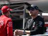 GP AZERBAIJAN, 28.04.2019 - Sebastian Vettel (GER) Ferrari SF90 e Valtteri Bottas (FIN) Mercedes AMG F1 W010