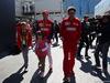 GP AZERBAIJAN, 27.04.2019 - Free Practice 3, John Elkann (ITA), President Ferrari with his sons e Mattia Binotto (ITA) Ferrari Team Principal