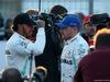 GP AZERBAIJAN, 27.04.2019 - Qualifiche, 2nd place Lewis Hamilton (GBR) Mercedes AMG F1 W10 e Valtteri Bottas (FIN) Mercedes AMG F1 W010 pole position