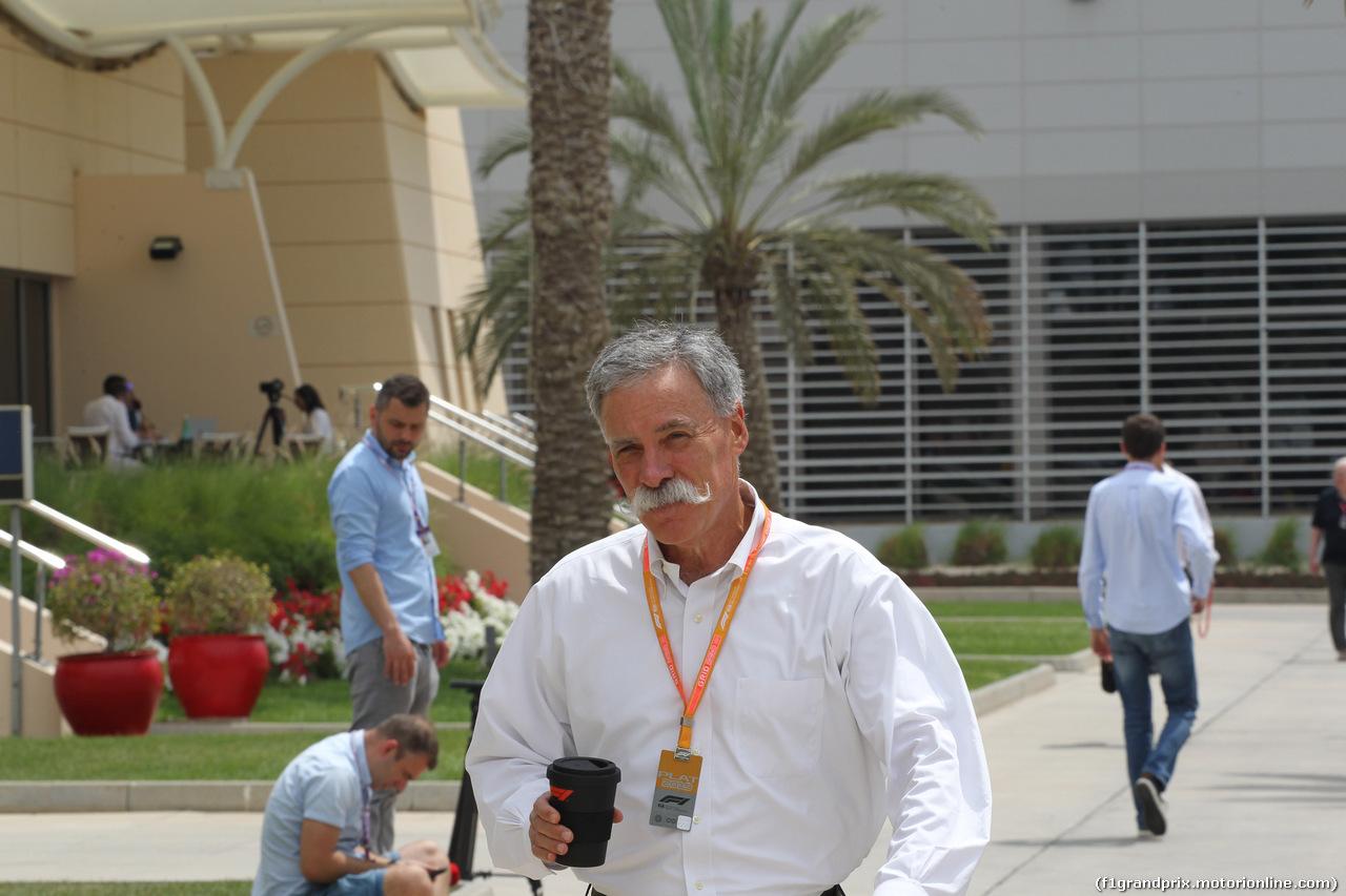 GP BAHRAIN, 31.03.2019- Chase Carey (US), Liberty Media