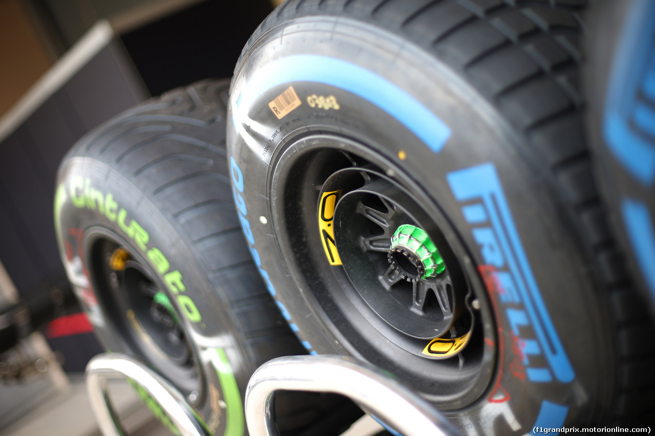 GP BAHRAIN, 31.03.2019- OZ Wheels e Pirelli Tyres