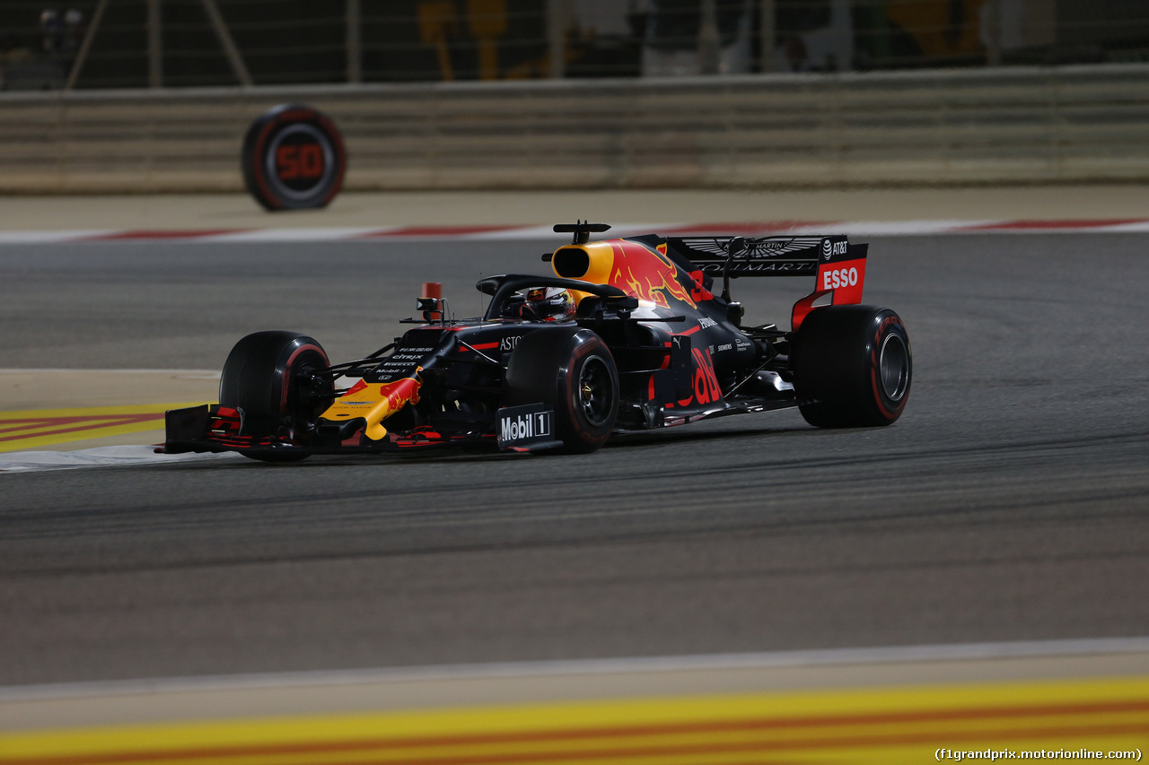 GP BAHRAIN, 31.03.2019- Gara, Max Verstappen (NED) Red Bull Racing RB15