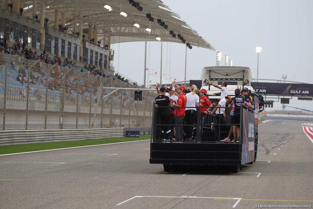 GP BAHRAIN, 31.03.2019- driver parade,