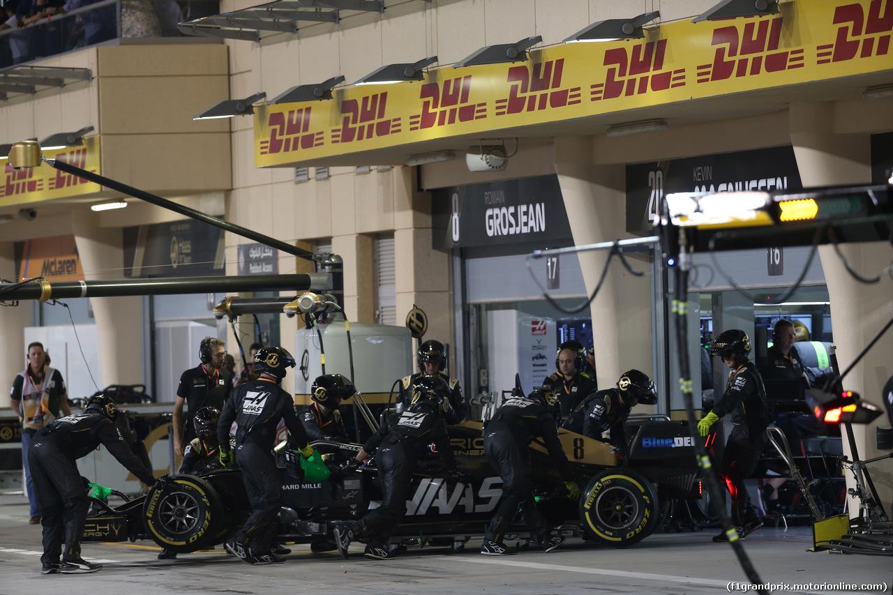 GP BAHRAIN, 31.03.2019- Gara, Romain Grosjean (FRA) Haas F1 Team VF-19