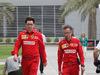 GP BAHRAIN, 31.03.2019- Mattia Binotto (ITA) Ferrari Team Principal e Laurent Mekies (FRA) Ferrari Sporting Director