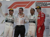 GP BAHRAIN, 31.03.2019- podium, winner Lewis Hamilton (GBR) Mercedes AMG F1 W10 EQ Power, 2nd placeValtteri Bottas (FIN) Mercedes AMG F1 W10 EQ Power, 3rd place Charles Leclerc (MON) Ferrari SF90