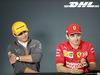 GP BAHRAIN, 28.03.2019- Official Fia press conference, Lando Norris (GBR) Mclaren F1 Team MCL34 (L) e Charles Leclerc (MON) Ferrari SF90 (R(