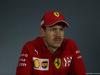GP BAHRAIN, 30.03.2019- Official Fia press conference,  Sebastian Vettel (GER) Ferrari SF90