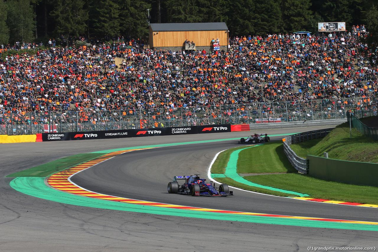 GP BELGIO, 01.09.2019 - Gara, Daniil Kvyat (RUS) Scuderia Toro Rosso STR14