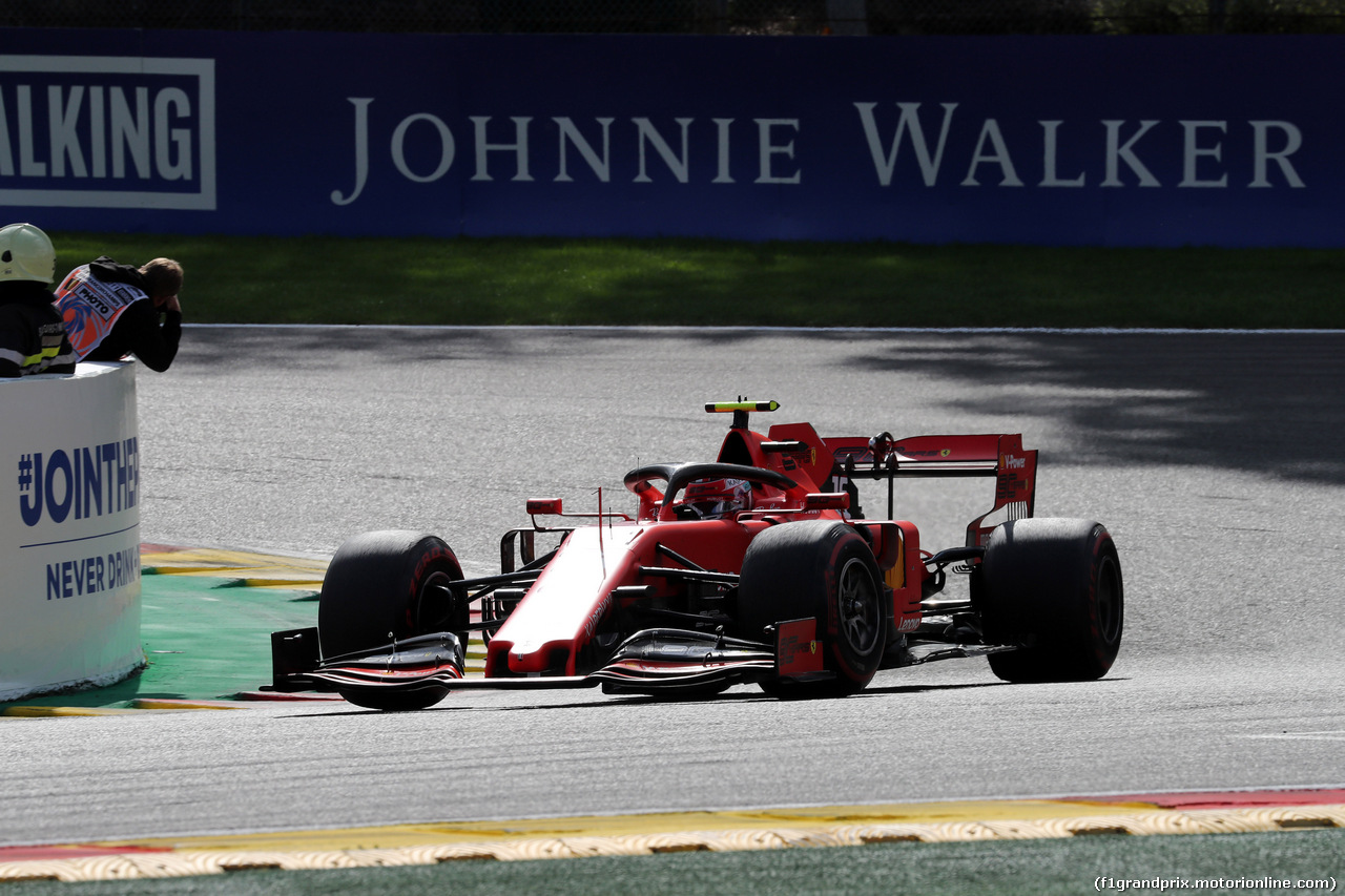 GP BELGIO, 01.09.2019 - Gara, Charles Leclerc (MON) Ferrari SF90