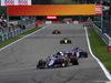 GP BELGIO, 01.09.2019 - Gara, Alexander Albon (THA) Red Bull Racing RB15 davanti a Daniil Kvyat (RUS) Scuderia Toro Rosso STR14