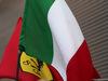 GP BELGIO, 01.09.2019 - Gara, Italian e Ferrari flags