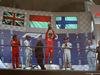 GP BELGIO, 01.09.2019 - Gara, Charles Leclerc (MON) Ferrari SF90 vincitore, 2nd place Lewis Hamilton (GBR) Mercedes AMG F1 W10 e 3rd place Valtteri Bottas (FIN) Mercedes AMG F1 W010