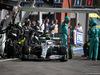 GP BELGIO, 01.09.2019 - Gara, Pit stop, Valtteri Bottas (FIN) Mercedes AMG F1 W010