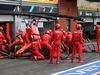 GP BELGIO, 01.09.2019 - Gara, Pit stop, Sebastian Vettel (GER) Ferrari SF90