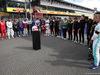 GP BELGIO, 01.09.2019 - Gara, The grid pays tribute to Anthoine Hubert